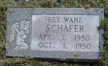 SCHAFER, REX WANE - Lawrence County, Arkansas | REX WANE SCHAFER - Arkansas Gravestone Photos