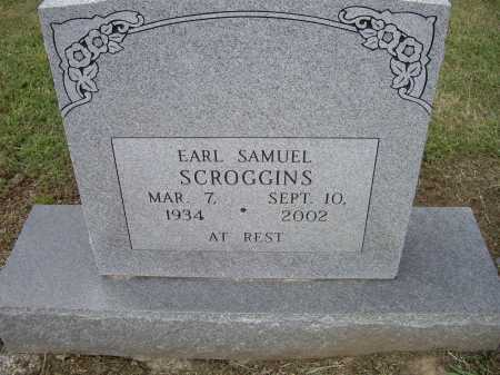 SCROGGINS, EARL SAMUEL - Lawrence County, Arkansas | EARL SAMUEL SCROGGINS - Arkansas Gravestone Photos