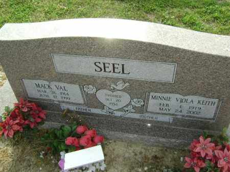 KEITH SEEL, MINNIE VIOLA - Lawrence County, Arkansas | MINNIE VIOLA KEITH SEEL - Arkansas Gravestone Photos