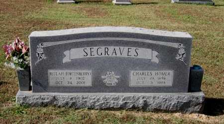 SEGRAVES, CHARLES HOMER - Lawrence County, Arkansas | CHARLES HOMER SEGRAVES - Arkansas Gravestone Photos