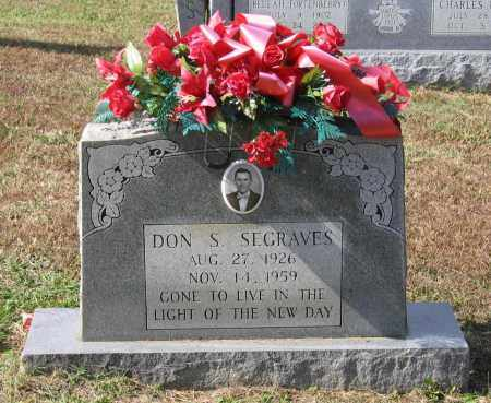 SEGRAVES, DON SEVIER - Lawrence County, Arkansas | DON SEVIER SEGRAVES - Arkansas Gravestone Photos