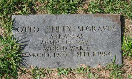 SEGRAVES (VETERAN WWII), OTTO FINLEY - Lawrence County, Arkansas | OTTO FINLEY SEGRAVES (VETERAN WWII) - Arkansas Gravestone Photos