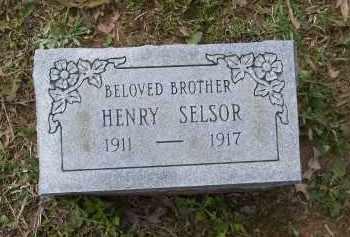 SELSOR, HENRY - Lawrence County, Arkansas | HENRY SELSOR - Arkansas Gravestone Photos