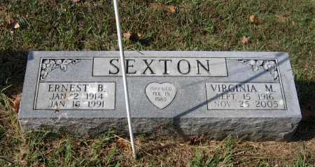 SEXTON, VIRGINIA MAY COOK OWENS - Lawrence County, Arkansas | VIRGINIA MAY COOK OWENS SEXTON - Arkansas Gravestone Photos