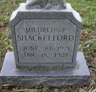 SHACKELFORD, MILDRED P. - Lawrence County, Arkansas | MILDRED P. SHACKELFORD - Arkansas Gravestone Photos