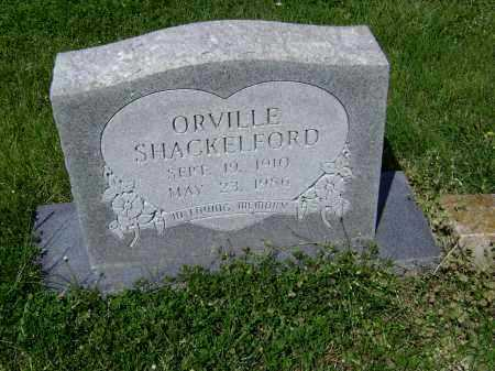 SHACKELFORD, ORVILLE - Lawrence County, Arkansas | ORVILLE SHACKELFORD - Arkansas Gravestone Photos