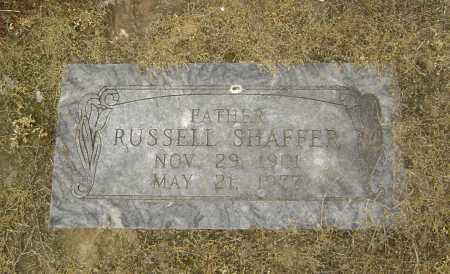 SHAFFER, RUSSELL - Lawrence County, Arkansas | RUSSELL SHAFFER - Arkansas Gravestone Photos