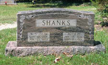"SHANKS, WILFORD SAMUEL ""SLIM"" - Lawrence County, Arkansas 