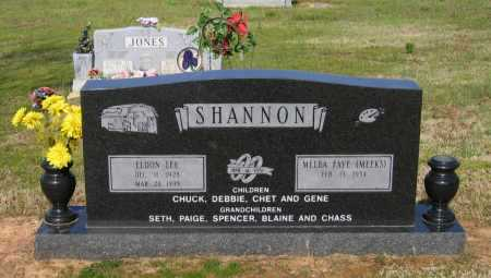 SHANNON, ELDON LEE - Lawrence County, Arkansas | ELDON LEE SHANNON - Arkansas Gravestone Photos