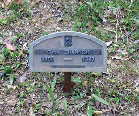 SHANNON, OMA - Lawrence County, Arkansas | OMA SHANNON - Arkansas Gravestone Photos