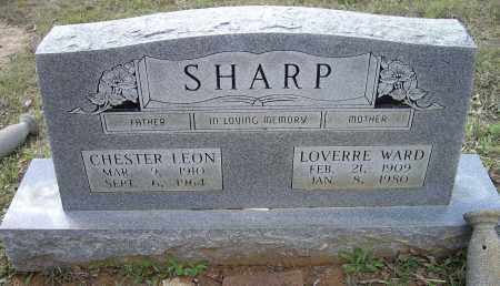 WARD SHARP, OCCARA LOVERRE - Lawrence County, Arkansas | OCCARA LOVERRE WARD SHARP - Arkansas Gravestone Photos