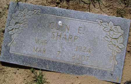 SHARP, GLEN EDGAR - Lawrence County, Arkansas | GLEN EDGAR SHARP - Arkansas Gravestone Photos