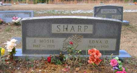 OVERSTREET SHARP, EDNA B. - Lawrence County, Arkansas | EDNA B. OVERSTREET SHARP - Arkansas Gravestone Photos