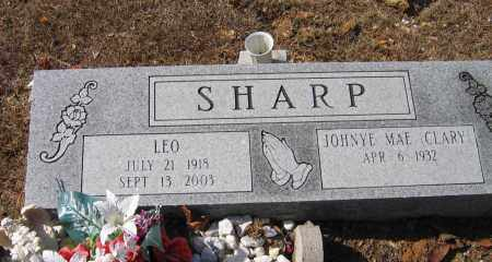SHARP, LEO - Lawrence County, Arkansas | LEO SHARP - Arkansas Gravestone Photos