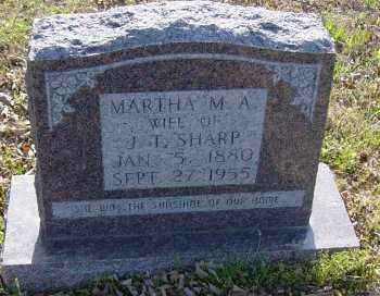 PENN SHARP, MARTHA M. A. - Lawrence County, Arkansas | MARTHA M. A. PENN SHARP - Arkansas Gravestone Photos