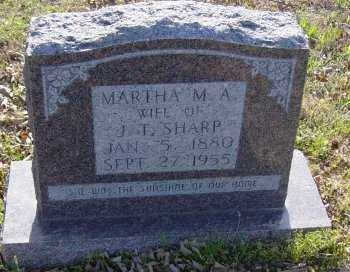 "PENN SHARP, MARTHA ELIZABETH ""M.A."" - Lawrence County, Arkansas | MARTHA ELIZABETH ""M.A."" PENN SHARP - Arkansas Gravestone Photos"