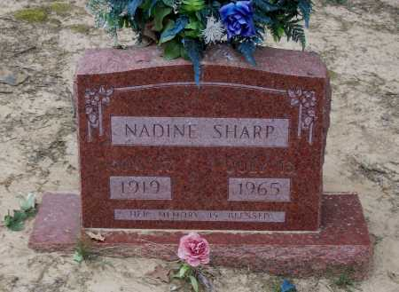SHARP, NADINE - Lawrence County, Arkansas | NADINE SHARP - Arkansas Gravestone Photos