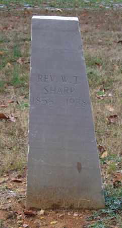 "SHARP, REV., WILLIAM THOMAS ""W. T."" - Lawrence County, Arkansas 