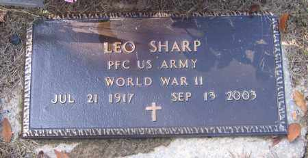 SHARP (VETERAN WWII), LEO - Lawrence County, Arkansas | LEO SHARP (VETERAN WWII) - Arkansas Gravestone Photos