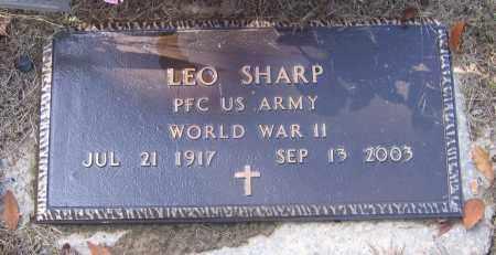 SHARP (VETERAN WWII), LEO - Lawrence County, Arkansas | LEO SHARP (VETERAN WWII) - Arkansas Gravestone Photos