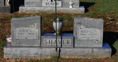 SHAVER, JR., MILO GIFFORD - Lawrence County, Arkansas | MILO GIFFORD SHAVER, JR. - Arkansas Gravestone Photos