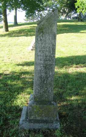 SHAW, FLORA E. - Lawrence County, Arkansas | FLORA E. SHAW - Arkansas Gravestone Photos