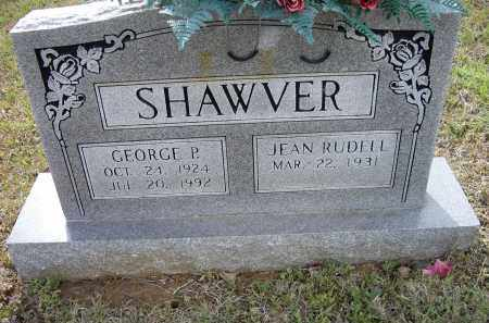 SHAWVER, GEORGE PARK - Lawrence County, Arkansas | GEORGE PARK SHAWVER - Arkansas Gravestone Photos