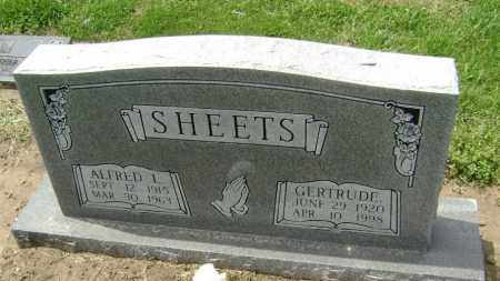 SHEETS, ALFRED LEE - Lawrence County, Arkansas | ALFRED LEE SHEETS - Arkansas Gravestone Photos