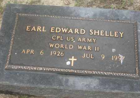 SHELLEY (VETERAN WWII), EARL EDWARD - Lawrence County, Arkansas | EARL EDWARD SHELLEY (VETERAN WWII) - Arkansas Gravestone Photos