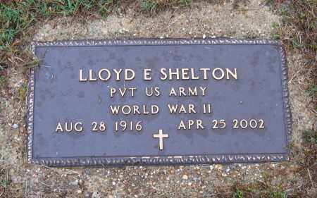 SHELTON (VETERAN WWII), LLOYD E - Lawrence County, Arkansas | LLOYD E SHELTON (VETERAN WWII) - Arkansas Gravestone Photos