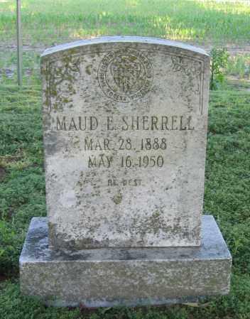 SHERRELL, MAUD E. - Lawrence County, Arkansas | MAUD E. SHERRELL - Arkansas Gravestone Photos