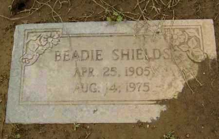 "SHIELDS, JOHN E. ""BEADIE"" - Lawrence County, Arkansas 