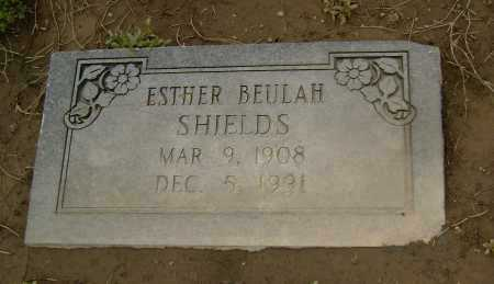 SHIELDS, ESTHER BEULAH - Lawrence County, Arkansas | ESTHER BEULAH SHIELDS - Arkansas Gravestone Photos