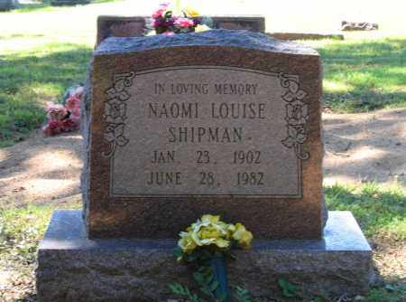 SHIPMAN, NAOMI LOUISE - Lawrence County, Arkansas | NAOMI LOUISE SHIPMAN - Arkansas Gravestone Photos
