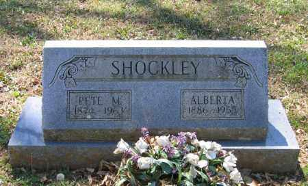 HARDEN SHOCKLEY, ALBERTA - Lawrence County, Arkansas | ALBERTA HARDEN SHOCKLEY - Arkansas Gravestone Photos