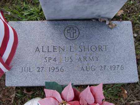 SHORT (VETERAN VIET), ALLEN LEE (2) - Lawrence County, Arkansas | ALLEN LEE (2) SHORT (VETERAN VIET) - Arkansas Gravestone Photos