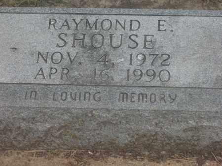SHOUSE, RAYMOND E. - Lawrence County, Arkansas | RAYMOND E. SHOUSE - Arkansas Gravestone Photos