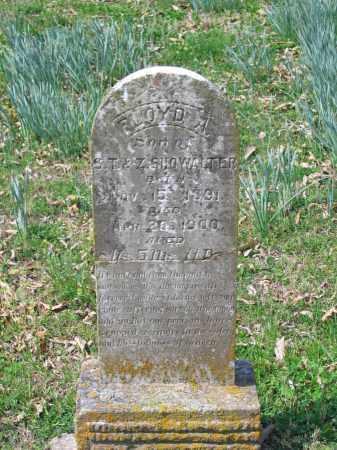 SHOWALTER, FLOYD A. - Lawrence County, Arkansas   FLOYD A. SHOWALTER - Arkansas Gravestone Photos