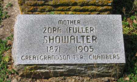 FULLER SHOWALTER, ZORA - Lawrence County, Arkansas | ZORA FULLER SHOWALTER - Arkansas Gravestone Photos