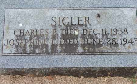 SIGLER, CHARLES B. - Lawrence County, Arkansas | CHARLES B. SIGLER - Arkansas Gravestone Photos
