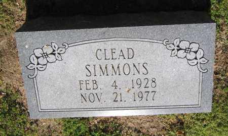 SIMMONS, CLEAD - Lawrence County, Arkansas | CLEAD SIMMONS - Arkansas Gravestone Photos