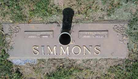 SIMMONS, EUGENE L. - Lawrence County, Arkansas | EUGENE L. SIMMONS - Arkansas Gravestone Photos