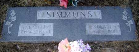 SIMMONS, NORA L. - Lawrence County, Arkansas | NORA L. SIMMONS - Arkansas Gravestone Photos