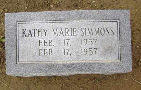SIMMONS, KATHY MARIE - Lawrence County, Arkansas | KATHY MARIE SIMMONS - Arkansas Gravestone Photos