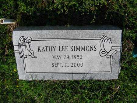 SIMMONS, KATHY LEE ANDERSON WEBB - Lawrence County, Arkansas | KATHY LEE ANDERSON WEBB SIMMONS - Arkansas Gravestone Photos