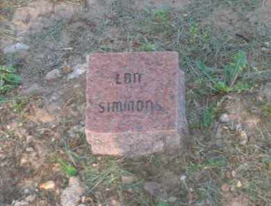 SIMMONS, LON - Lawrence County, Arkansas | LON SIMMONS - Arkansas Gravestone Photos