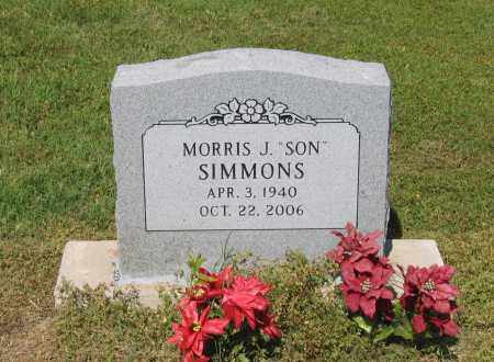 "SIMMONS, MORRIS J. ""SON"" - Lawrence County, Arkansas 