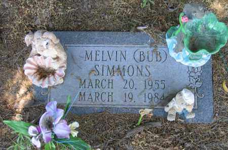 "SIMMONS, MELVIN ""BUB"" - Lawrence County, Arkansas 