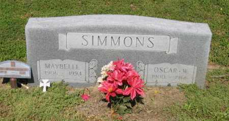 SIMMONS, MAYBELLE - Lawrence County, Arkansas | MAYBELLE SIMMONS - Arkansas Gravestone Photos