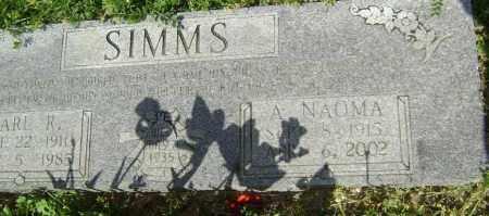 SIMMS, ALMA NAOMI - Lawrence County, Arkansas | ALMA NAOMI SIMMS - Arkansas Gravestone Photos